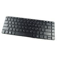 HP notebook reserve-onderdeel: Keyboard - HE layout - Zwart