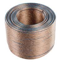 Valueline : 2x 1.50 mm², 100m - Transparant