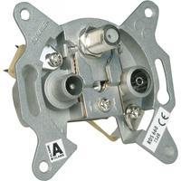 Schwaiger wandcontactdoos: RDS660 411 - Metallic