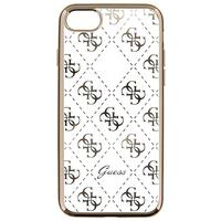GUESS mobile phone case: 4G - Goud, Transparant