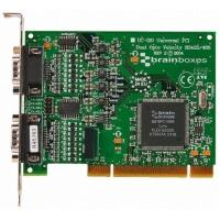 Brainboxes interfaceadapter: PCI 2 port OPTO RS422/485
