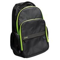 "König rugzak: Trolley backpack, 15""/16"", Lime - Zwart, Groen"