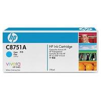HP inktcartridge: C8751A Cyan Original Ink Cartridge - Cyaan