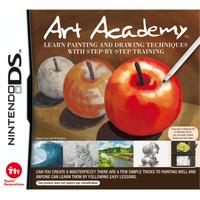 Nintendo game: Art Academy: Learn Painting and Drawing Techniques with Step-by-Step Training, NDS