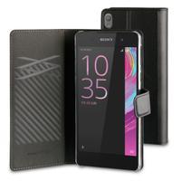Muvit mobile phone case: SEFLS0001 - Zwart