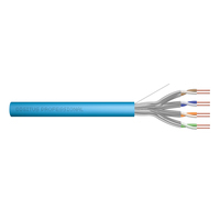 Digitus netwerkkabel: Cat6a U-FTP 100m - Multi kleuren