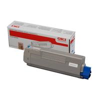 OKI cartridge: Cyan Toner Cartridge - Cyaan