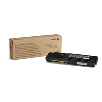 Xerox cartridge: WorkCentre 6655, hoge capaciteits tonercartridge, geel (7.500 pagina's)