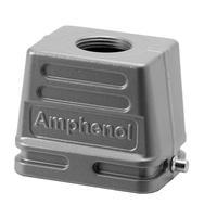 Amphenol NBR, PA, IP65, E6 Multipolaire connector-behuizing - Metallic