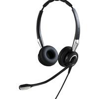 Jabra headset: BIZ 2400 II QD Duo NC WideBand - Zwart