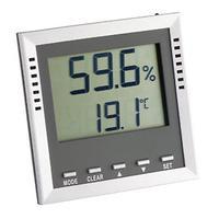 TFA hygrometer: 30.5010 - Grijs, Zilver