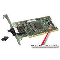 Hewlett Packard Enterprise interfaceadapter: SP/CQ Board Ethernet NC6134 / 1000SX