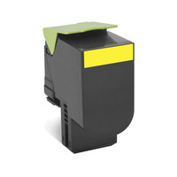 Lexmark cartridge: 702HY R - Geel