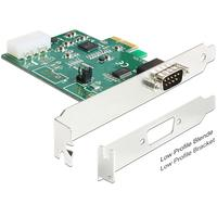 DeLOCK interfaceadapter: PCI Express Card > 1 x Serial RS-232 High Speed 921K with Voltage supply