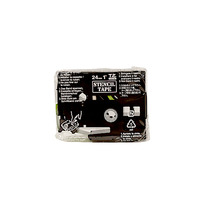 Brother labelprinter tape: STE-151 - Zwart