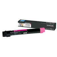 Lexmark cartridge: C950 tonercartridge magenta met extra hoog rendement