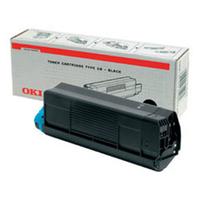 OKI toner: Zwart Toner Cartridge voor C3200