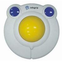 Ergoline Large kidsball ps2/usb Input device - Blauw, Wit, Geel