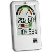 Tfa-dostmann weerstation: 'Bel-Air' wireless thermo-hygrometer with ventilation tip