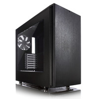 Fractal Design behuizing: Define S - Window - Zwart