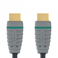 Bandridge BVL1210 HDMI kabel - Zwart, Grijs