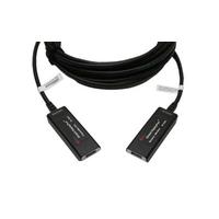 Opticis : DisplayPort extender. Lengte: 30. Eenh. 1 stk - Zwart