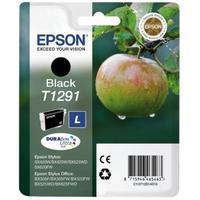 Epson inktcartridge: inktpatroon Black T1291 DURABrite Ultra Ink - Zwart