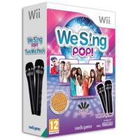 We Sing, Pop + 2 Microphones (Bundel) Wii -