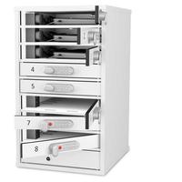 Zioxi Lapt/Tblt BYOD Locker 8,Code Lock Opbergdozen voor hulpmiddelen