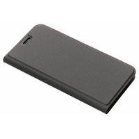 Slim Softcase Booktype iPhone Xs Max - Grijs / Grey Mobile phone case