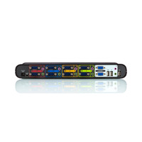 Belkin KVM switch: 4-poorts OmniView SOHO KVM-switch met audio-ondersteuning