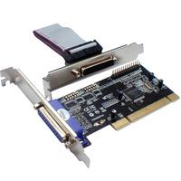 ST Lab interfaceadapter: PCI 2P Parallel Card, 2 x DB25 (f), Plug & Play