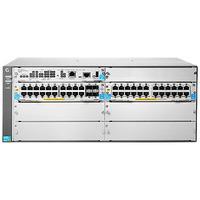 Hewlett Packard Enterprise switch: 5406R-44G-PoE+/4SFP v2 zl2 - Grijs