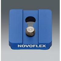 """Novoflex statief accessoire: Standard-Klemmplatte mit 3/8"""" Gewinde"""