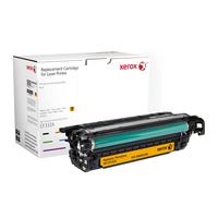 Xerox toner: Gele toner cartridge. Gelijk aan HP CF332A. Compatibel met HP Colour LaserJet M651 - Geel
