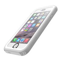 Catalyst mobile phone case: Waterproof case for Apple iPhone 6/6S, white - Transparant, Wit