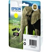 Epson inktcartridge: Singlepack Yellow 24XL Claria Photo HD Ink - Geel