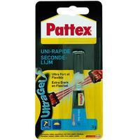 Pattex lijm: Secondelijm Ultra Gel - Multi kleuren