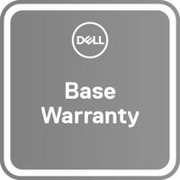 DELL garantie: 1Y Base Warranty with Collect & Return – 2Y Base Warranty with Collect & Return