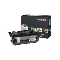 Lexmark toner: T644 32K retourprogramma etiketten-printcartr. - Zwart