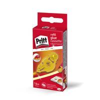 Pritt lijm: vulling voor lijmroller Refill niet-permanent - Geel