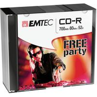 Emtec CD: CD-R, 700MB, 10pcs.
