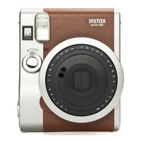 Fujifilm direct klaar camera: instax mini 90 NEO CLASSIC - Bruin, Roestvrijstaal