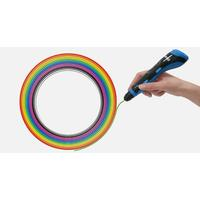 Polaroid 3D printing material: Play 3D Filament - Multi-Colour (Pack of 20) - Zwart, Blauw, Bruin, Goud, Groen, Grijs, .....
