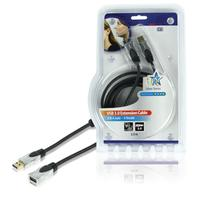 HQ USB kabel: 2.5m USB 3.0 A/A