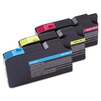Lexmark inktcartridge: 3-Pack 200XL Color (CMY) High Yield Return Program Ink Cartridges, Blister with security - .....