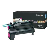Lexmark toner: C792 20K magenta printcartridge