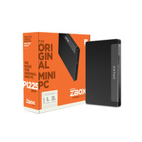 Zotac pc: ZBOX PI225 - Zwart