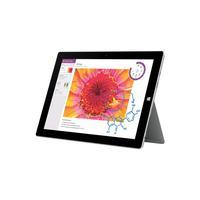 Microsoft tablet: Surface Surface 3 64GB Educatiebundel met Type Cover - Zilver