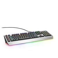 Alienware toetsenbord: AW768 - Zwart, Zilver, QWERTY